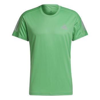 adidas OWN THE RUN TEE, moška tekaška majica, zelena