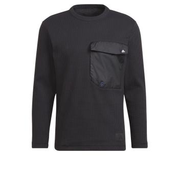 adidas M POCKET CREW, moški pulover, črna