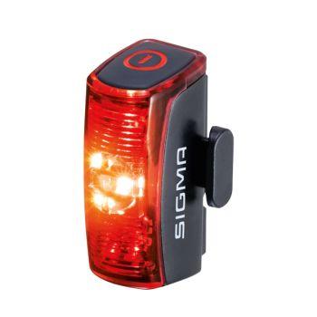 Sigma INFINITY USB REAR LIGHT, kolesarska svetilka, črna