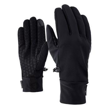 Ziener IVIDURO TOUCH, rokavice, črna