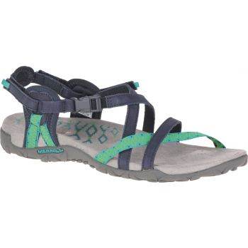 Merrell TERRAN LATTICE II, sandali, modra
