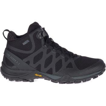 Merrell SIREN 3 MID GTX, ženski pohodni čevlji, črna