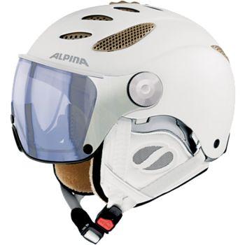 Alpina JUMP JV VHM, smučarska čelada, bela