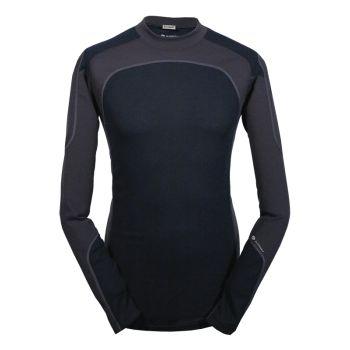 Karibu MS KDRY 14-MICRO CREW FI, moška pohodna majica, črna