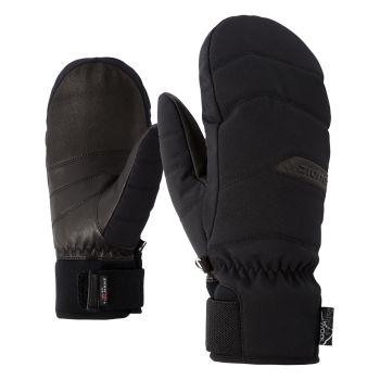Ziener KOMILLA AS AW MITTEN, ženske smučarske rokavice, črna