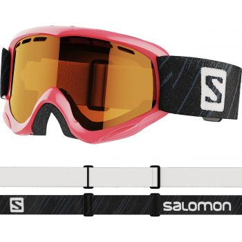 Salomon JUKE ACCESS, otroška smučarska očala, roza
