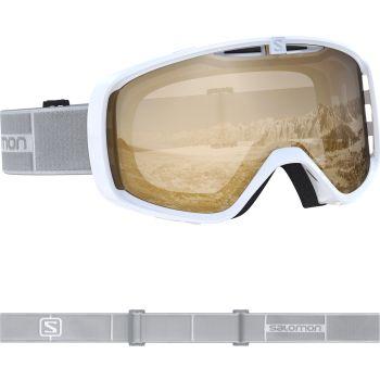 Salomon AKSIUM ACCESS, smučarska očala, bela