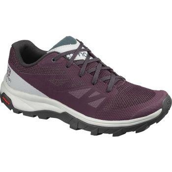 Salomon OUTLINE W, pohodni čevlji, vijolična