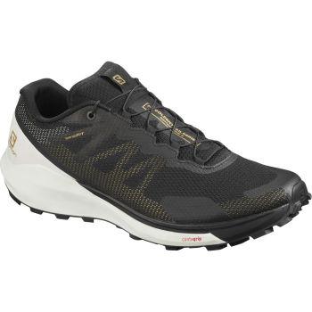Salomon SENSE RIDE 3 LTD EDITION, moški trail tekaški copati, črna