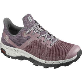 Salomon OUTLINE PRISM GTX W, pohodni čevlji, vijolična