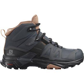 Salomon X ULTRA 4 MID GTX W, ženski pohodni čevlji, siva