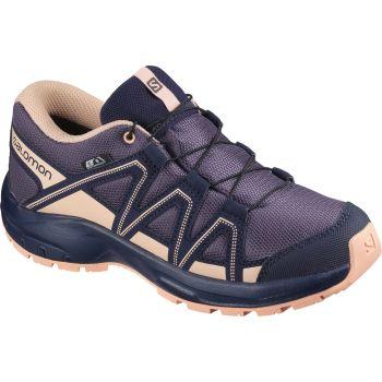 Salomon KICKA J CSWP, pohodni čevlji, vijolična