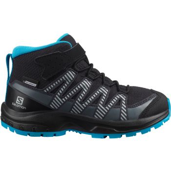 Salomon XA PRO 3D V8 MID CSWP K, otroški pohodni čevlji, črna