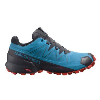 Salomon SPEEDCROSS 5 GTX, moški tekaški copati, modra