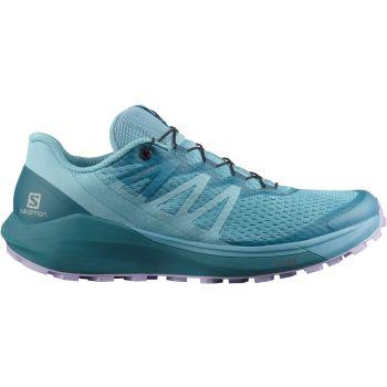 Salomon SENSE RIDE 4 W, ženski trail tekaški copati, modra