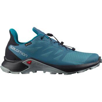 Salomon SUPERCROSS 3 GTX, moški trail tekaški copati, modra