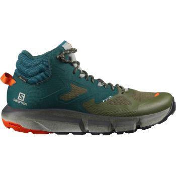 Salomon PREDICT HIKE MID GTX, moški pohodni čevlji, zelena