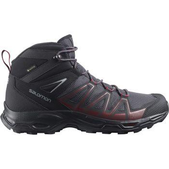 Salomon ROBSON MID GTX, moški pohodni čevlji, siva