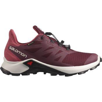 Salomon SUPERCROSS 3 GTX W, ženski trail tekaški copati, rdeča