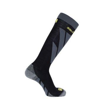 Salomon S-ACCESS M 1/1, moške smučarske nogavice, črna