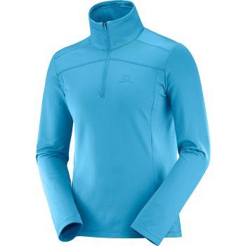 Salomon DISCOVERY LT HZ M, pulover m.poh, modra