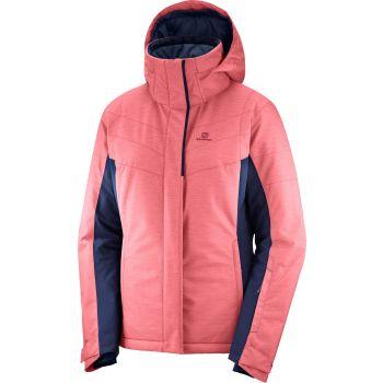 Salomon STRIKE JKT W, ženska smučarska jakna, roza