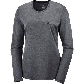Salomon AGILE LS TEE W, ženska tekaška majica, črna