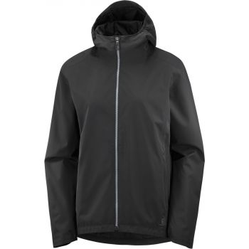 Salomon COMET 2L WATERPROOF JACKET W, ženska pohodna jakna, črna