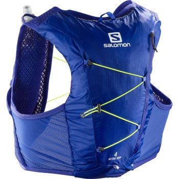 Salomon ACTIVE SKIN 4 SET, nahrbtnik, modra