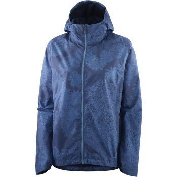 Salomon COMET 2L WATERPROOF JACKET W, ženska pohodna jakna, modra