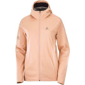 Salomon GTX WS SSHELL JKT W, ženska tekaška jakna, oranžna