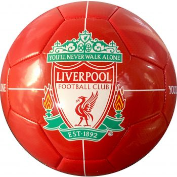 Barcelona FC LIVERPOOL LOGO, nogometna žoga, rdeča