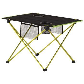 McKinley LT TABLE, miza za kampiranje, črna