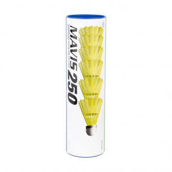 Yonex MAVIS 250 SLOW, žogica za badminton, rumena