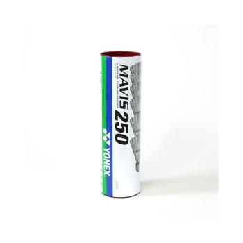 Yonex MAVIS 250 MIDD, žogica za badminton, bela