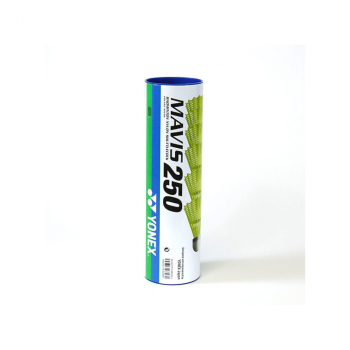 Yonex MAVIS 250 MIDD, žogica za badminton, rumena