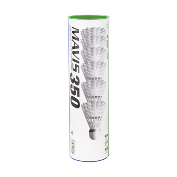 Yonex MAVIS 350 SLOW 6/1, žogica za badminton, bela