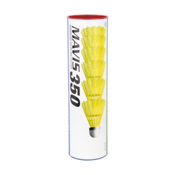 Yonex MAVIS 350 FAST 6/1, žogica za badminton, rumena