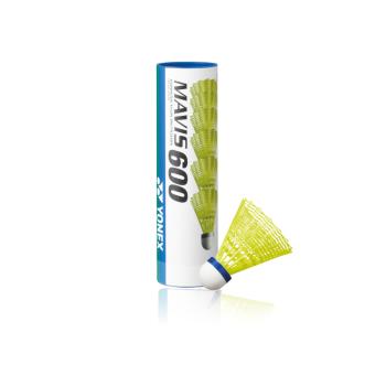 Yonex MAVIS 600 MIDD, žogica za badminton, rumena