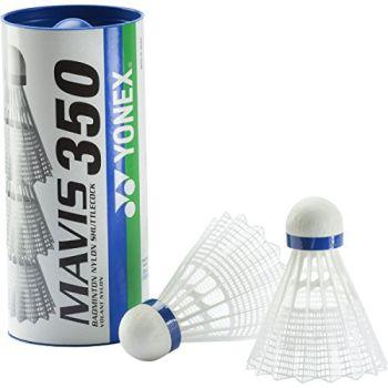Yonex MAVIS 350, žogica za badminton, bela