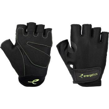 Energetics MFG150, moške fitnes rokavice, črna