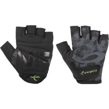 Energetics MFG350, moške fitnes rokavice, črna