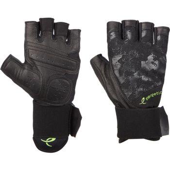 Energetics MFG750, moške fitnes rokavice, črna