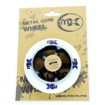 Micro MX TRIXX 100 MM, kolesa za skiro, bela