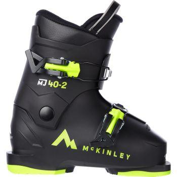 McKinley MJ 40-2, otroški smučarski čevlji, črna