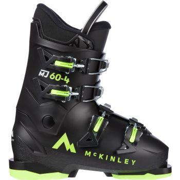 McKinley MJ 60-4, otroški smučarski čevlji, črna
