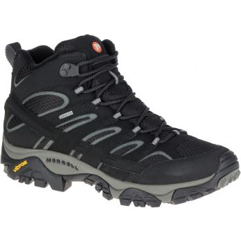 Merrell MOAB 2 MID GTX, moški pohodni čevlji, črna