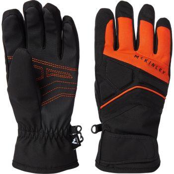 McKinley MORELL JRS, otroške smučarske rokavice, rdeča
