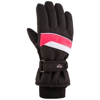 McKinley MORGAN JRS, otroške smučarske rokavice, črna