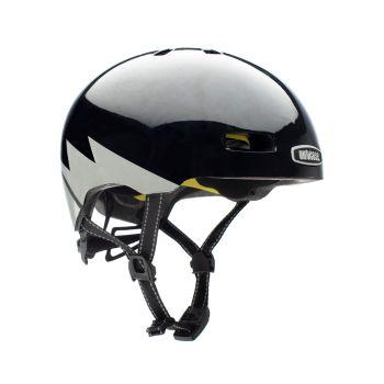 Nutcase STREET, kolesarska čelada, črna